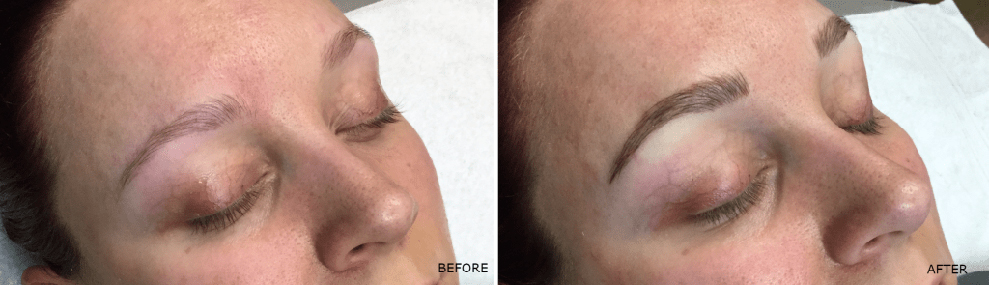 Microblading Brow Filling